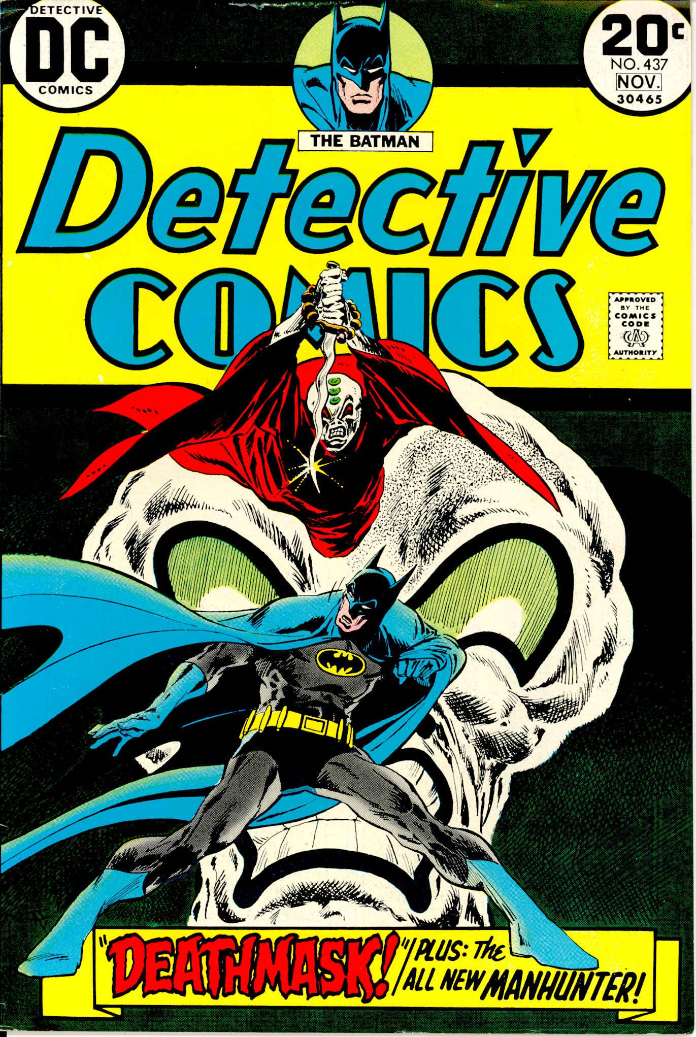 Detective Comics (1937) 437 Page 1