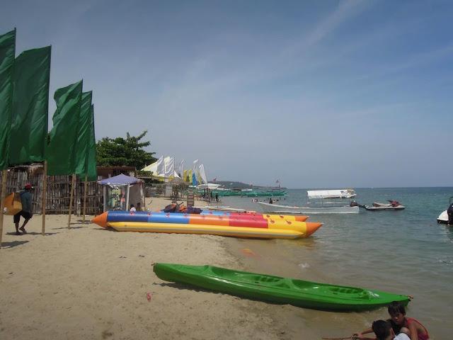 Boats at Paseo Verde Beach Resort