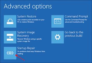 كيفية إصلاح مشكل البوت boot أو عدم إقلاع الويندوز و ظهور رسالة خطأ