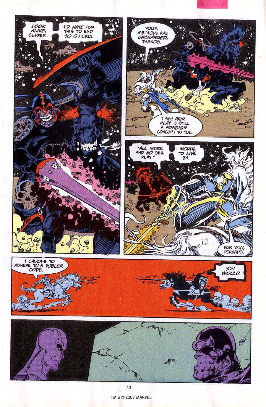 Read online Silver Surfer (1987) comic -  Issue #59 - 15