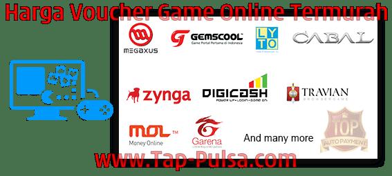Tap-Pulsa.Com Agen Pulsa Voucher Game Online Termurah