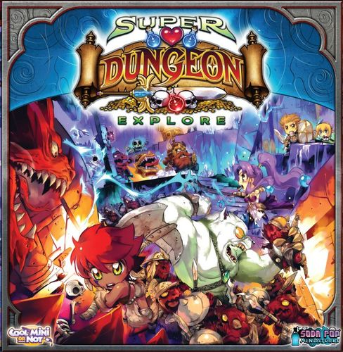 SDE-Super dungeon Explorer-paladín-painted-pintado- (1)