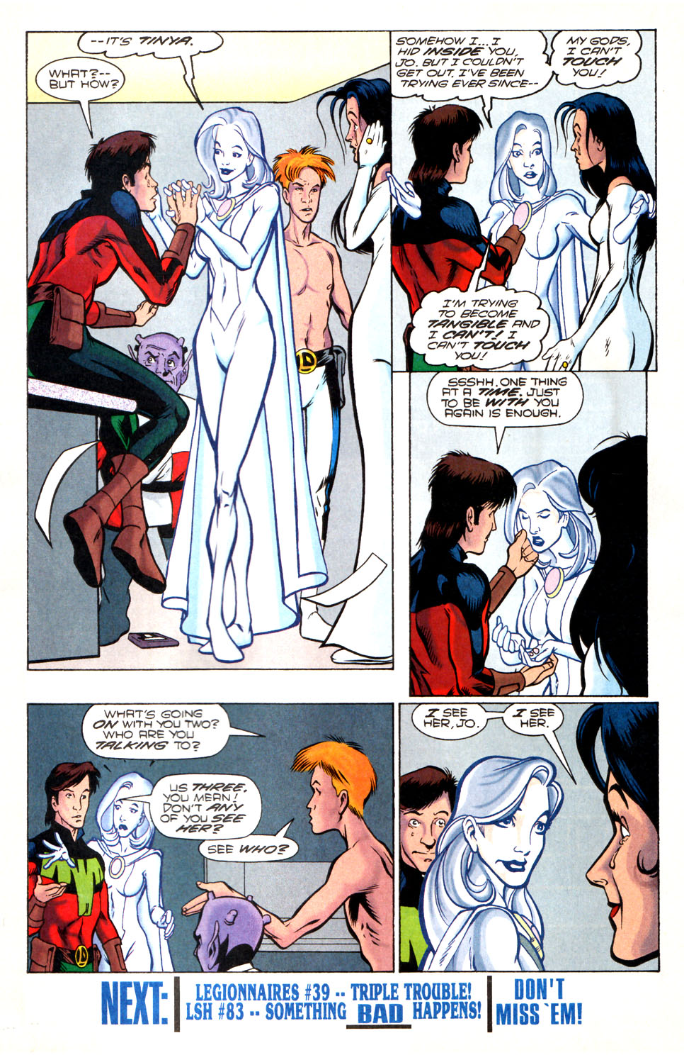 Legion of Super-Heroes (1989) 82 Page 21