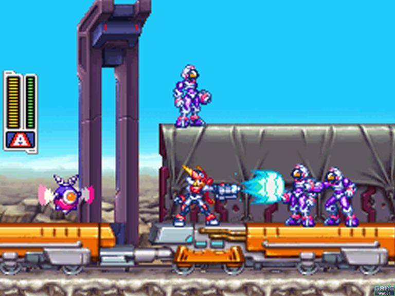 Mega Man action at its best!