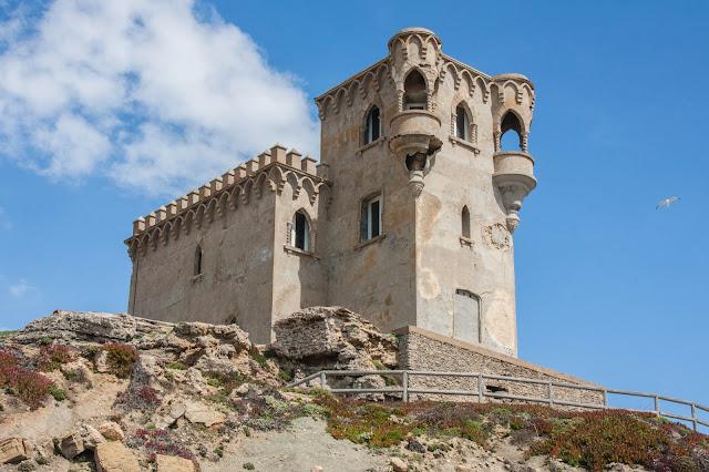 Castillo de Santa Catalina, em Tarifa, na Espanha, o berço da Andaluzia