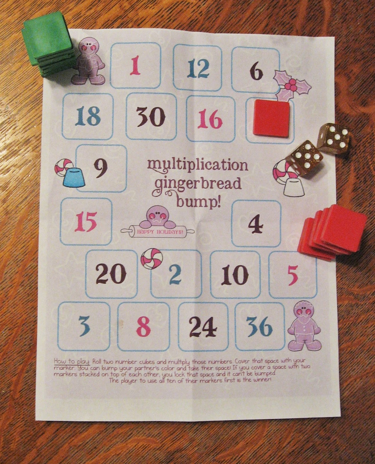 Almost Unschoolers: 23 Free Christmas Multiplication