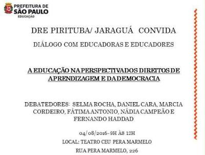 Chamada para o evento na página do CEU Pêra Marmelo