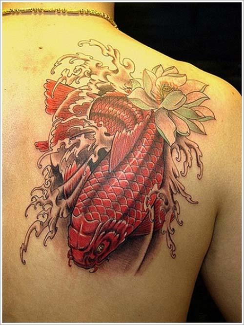 angry koi fish tattoos koi balığı dövmeleri