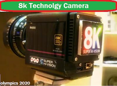 8k camera used in olympics 2020, 2020 camera, olympics camera