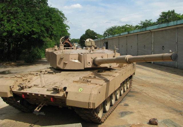Индийский танк