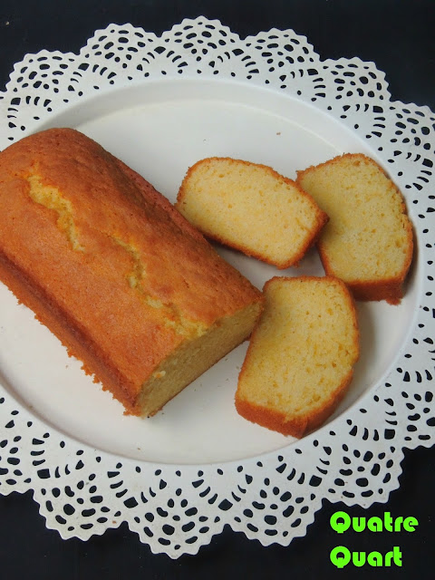 French Pound Cake, Quatre Quart
