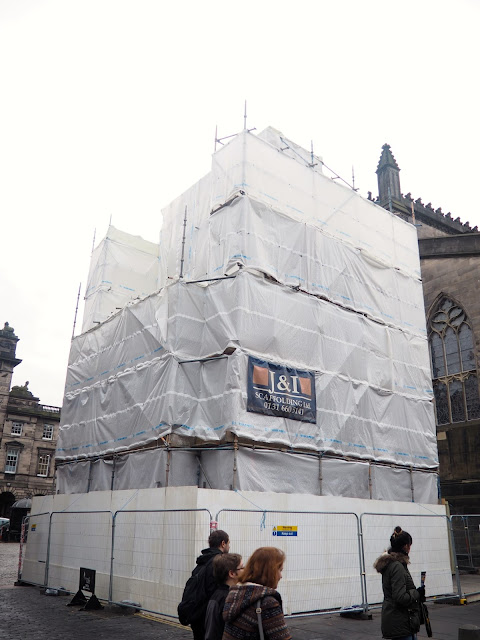 Mercat Cross, Royal Mile, Edinburgh