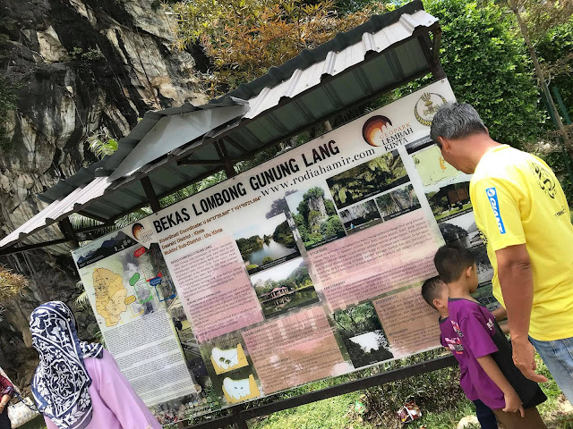 Bekas lombong Taman rekreasi Gunung Lang Ipoh