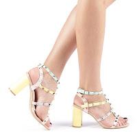 Sandale dama Rozza roz