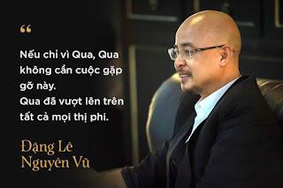 Vua cà fe Đặng Lê Nguyên Vũ