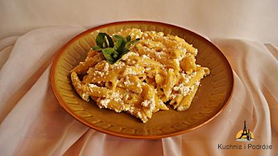 Makaron z serem