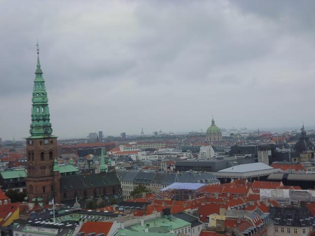 Vistas desde la Torre del Palacio de Christiansborg (Copenhague)