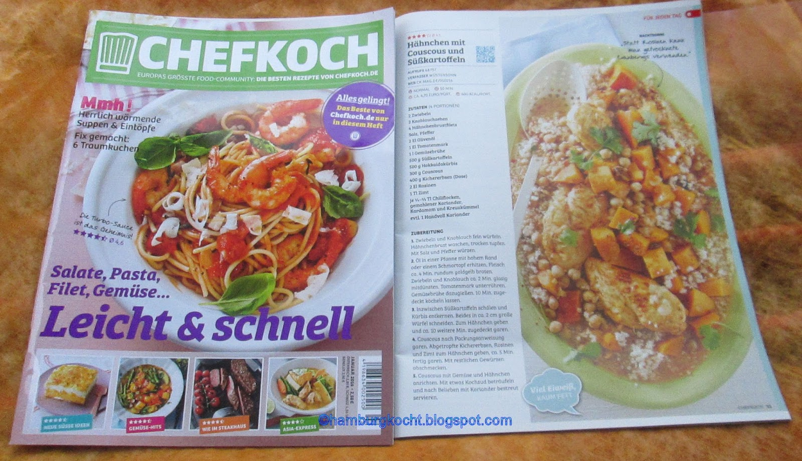 Inspirierend Chefkoch De. Rezepte Leichte Küche