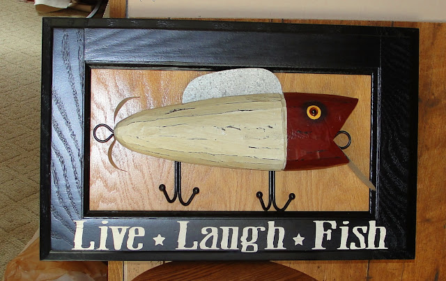 fishing lure sign