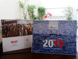Calendários Médicos Sem Fronteiras 2017