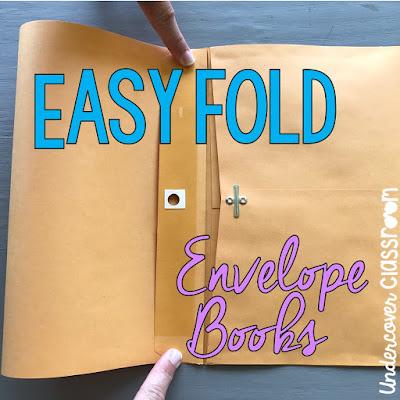 Undercover classroom stretch books click image to view envelope book tutorial solutioingenieria Images