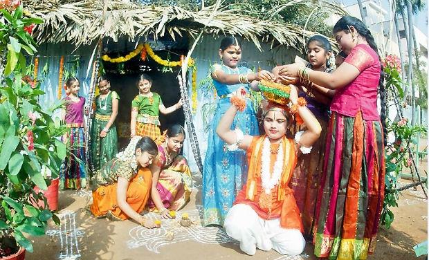 Makar Sankranti celebrates in Andhra pradesh