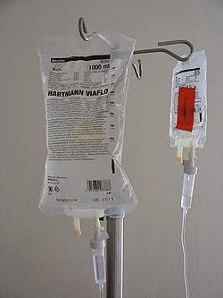 Mendapat Pengobatan Sampai Diinfus Ini Alasannya