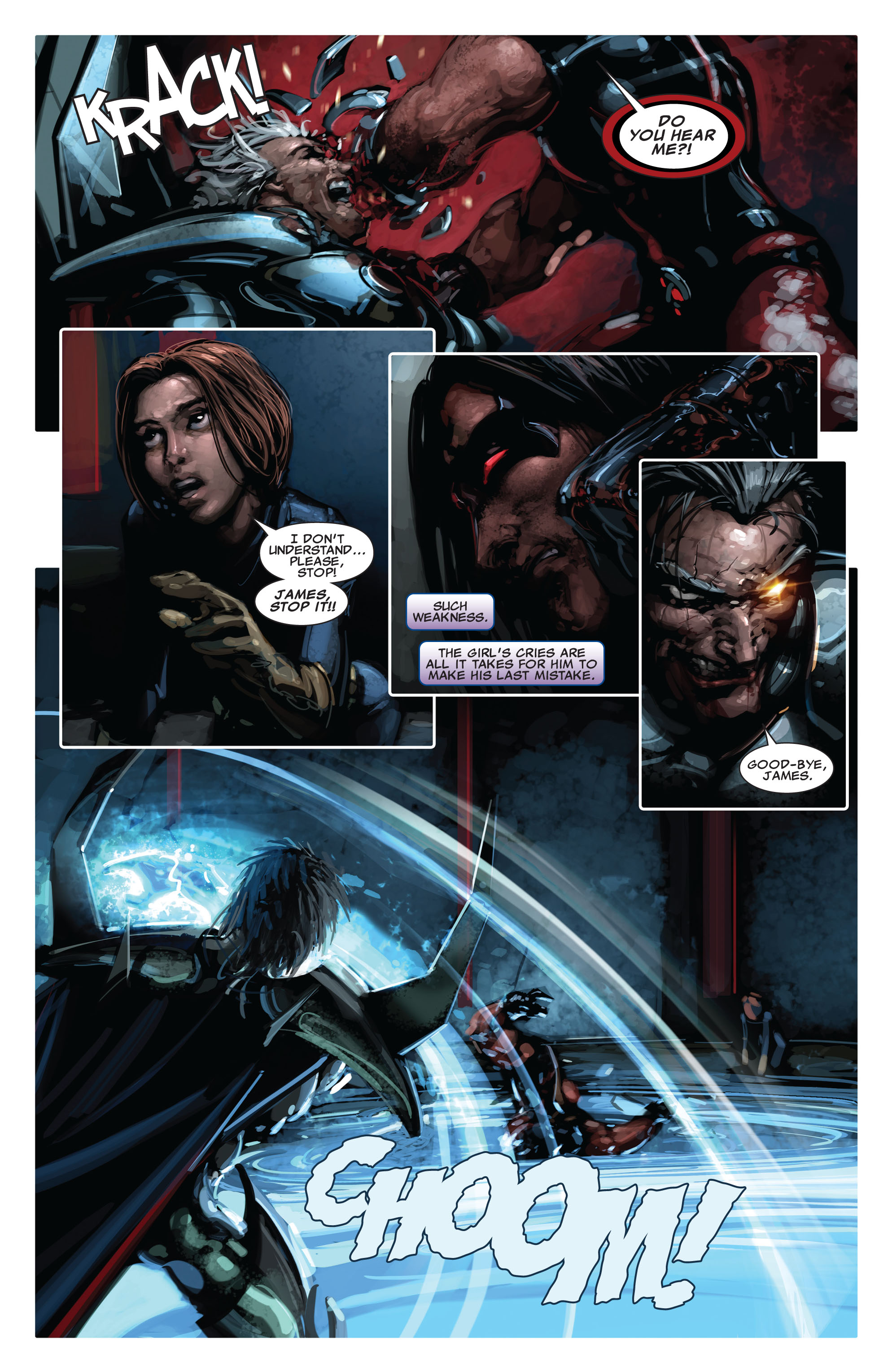 Read online X-Force (2008) comic -  Issue #15 - 6