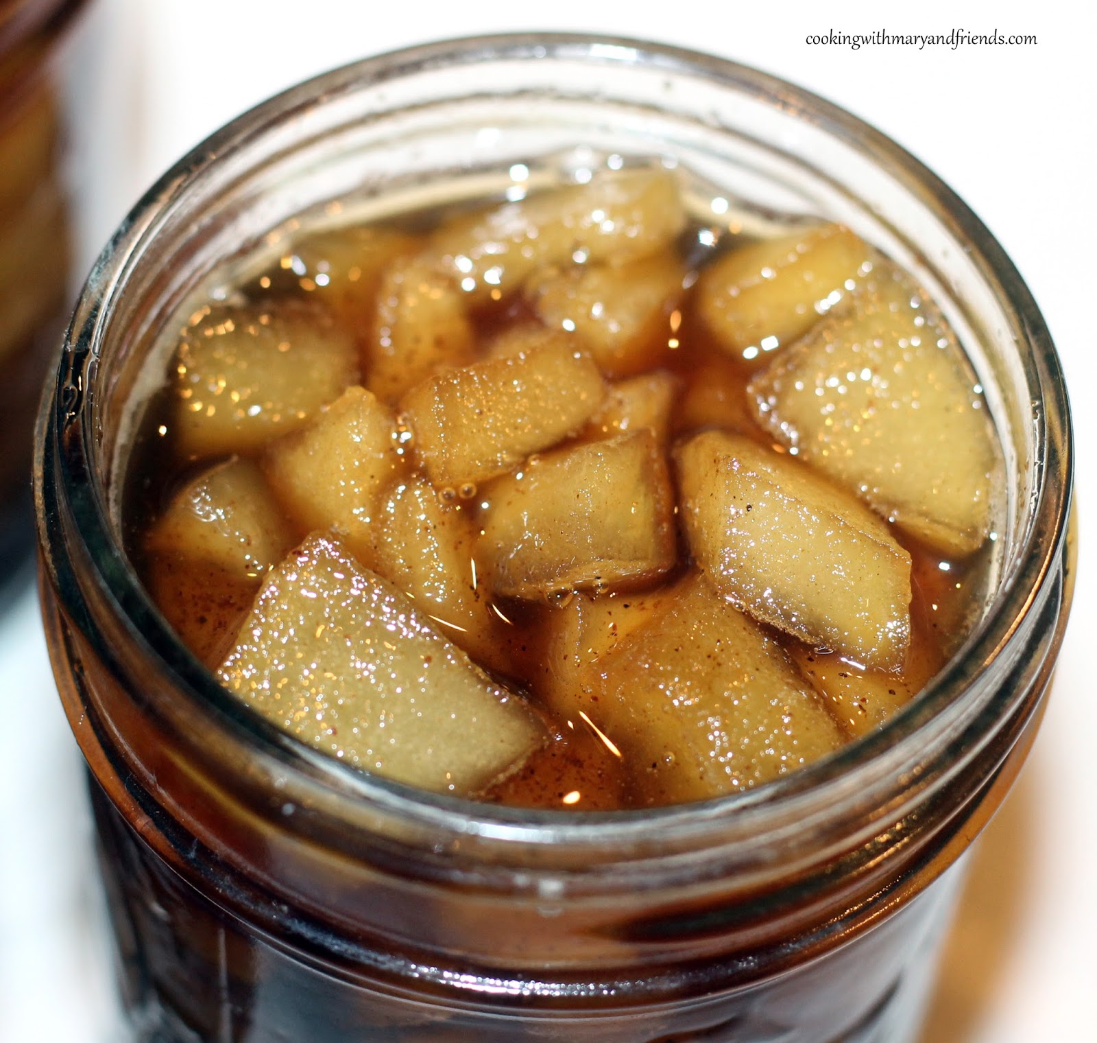 Cooking with mary and friends apples n spiced rum sauce recipe forumfinder Images