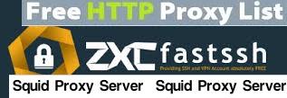 LIST Squid Proxy FASTSSH HTTP INJECTOR KPN TUNNEL EPROXY