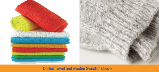 Difference between cotton and wool