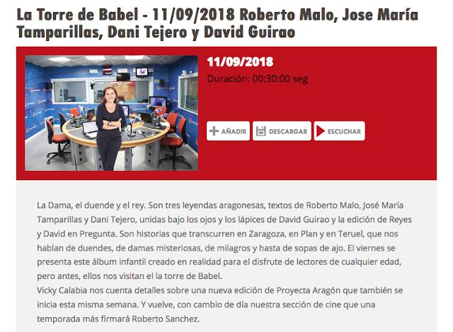 http://www.aragonradio.es/podcast/emision/la-torre-de-babel-11092018-roberto-malo-jose-maria-tamparillas-dani-tejero-y-david-guirao