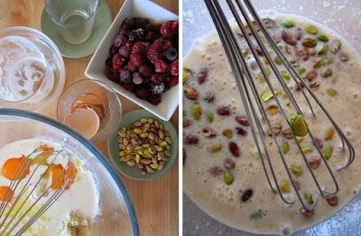 Tarta de frutos rojos y pistachos (Siempredulces) - Elaboración Paso 5