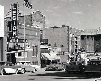 Minot memories american legion club downtown minot Bessette motors minot