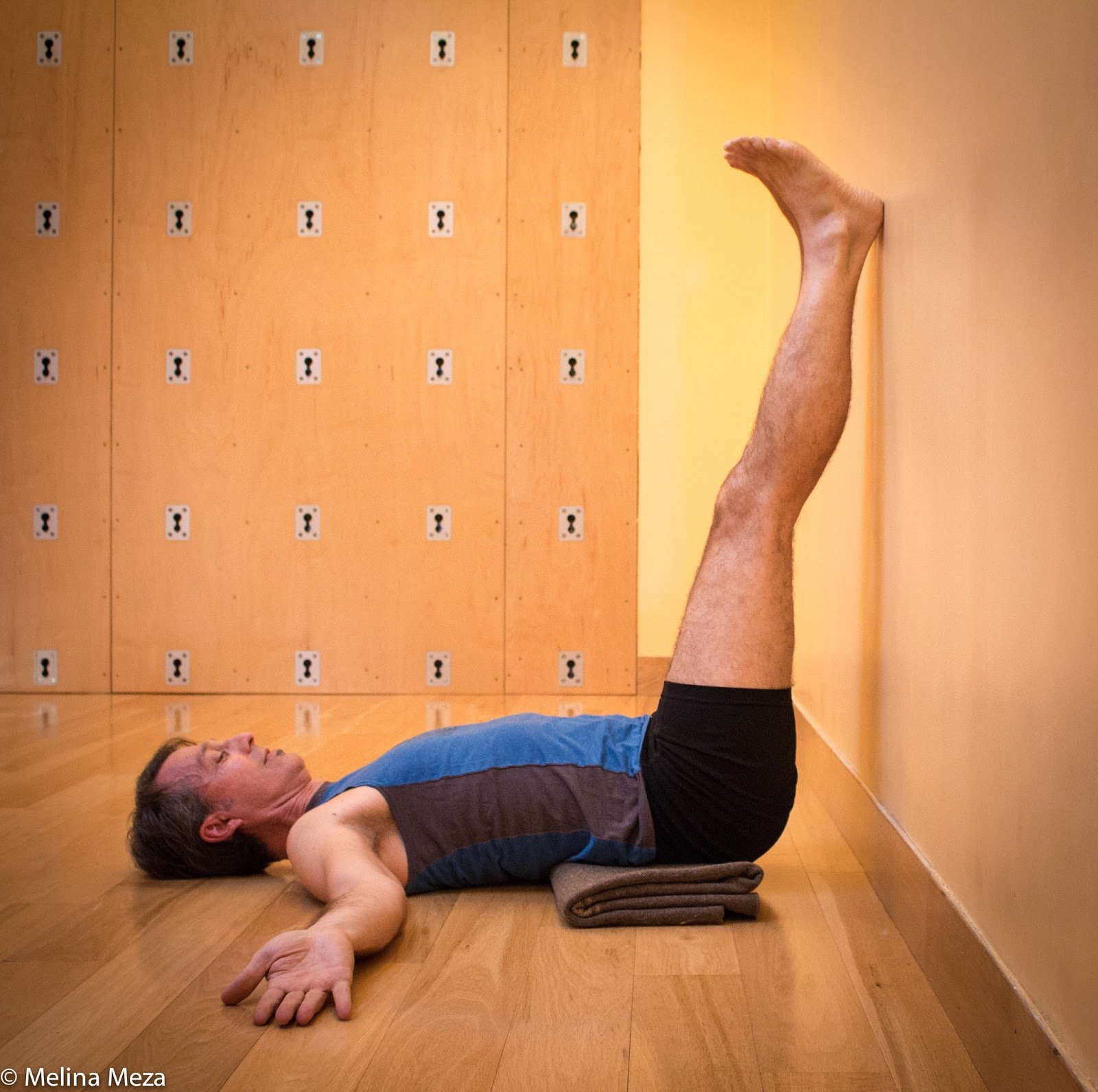 YOGA FOR HEALTHY AGING: Featured Pose: Legs Up the Wall Pose