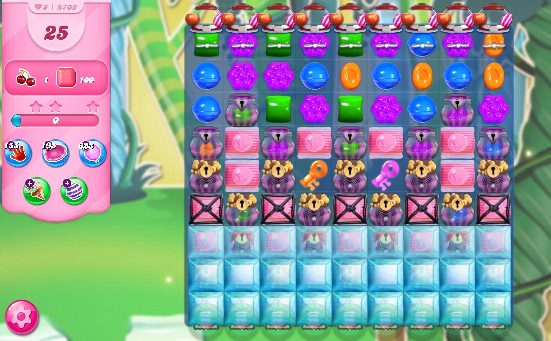 Candy Crush Saga level 6702
