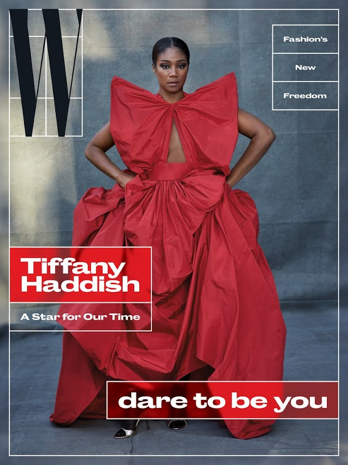"Tiffany Haddish is ""A Star for Our Time"" on the Cover of W Magazine's Latest Issue"