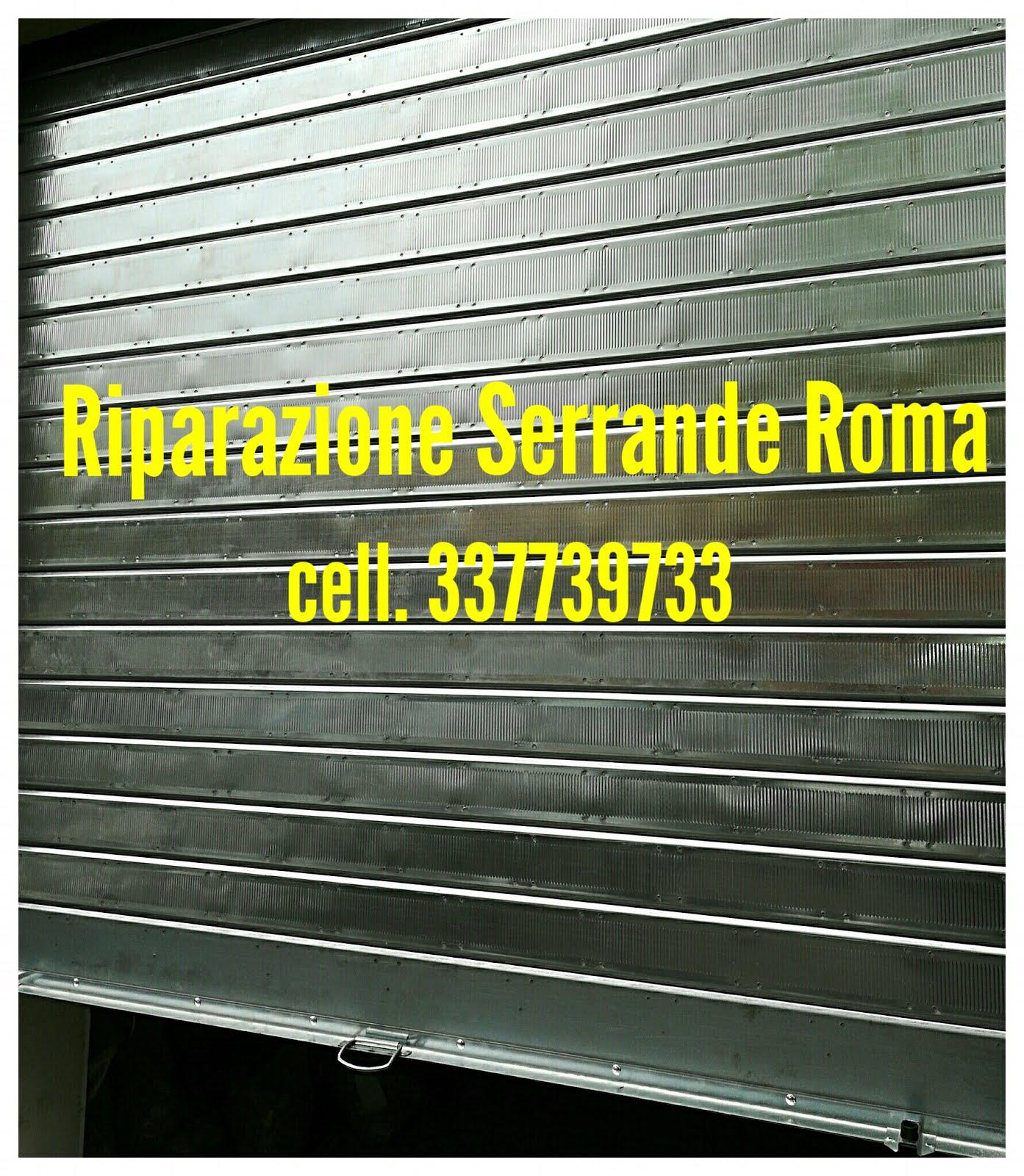 RIPARAZIONE MOLLE SERRANDE CENTOCELLE ROMA cel 337739733 Dario