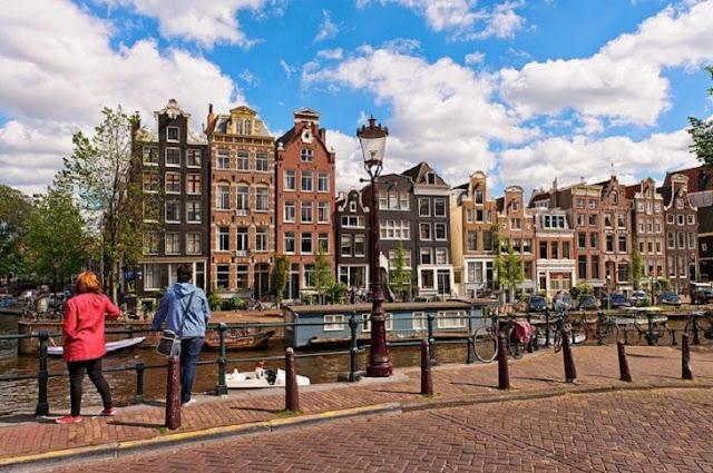 Clima em Amsterdã para passar a lua de mel