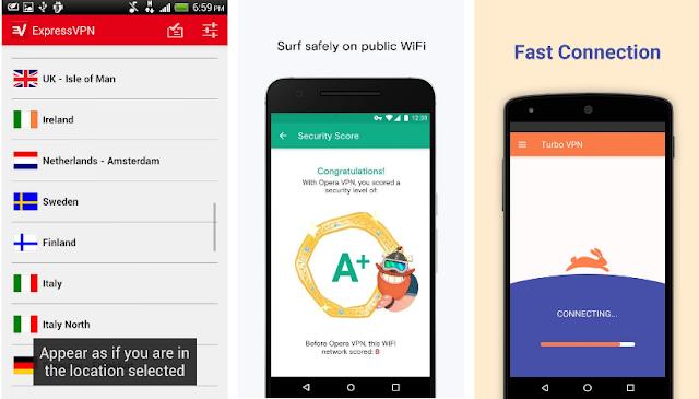 أفضل تطبيقات VPN المجانية على أندرويد