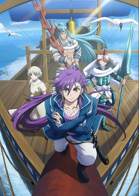 The Adventure of Sinbad / Magi: Sinbad no Bouken / Przygody Sindbada