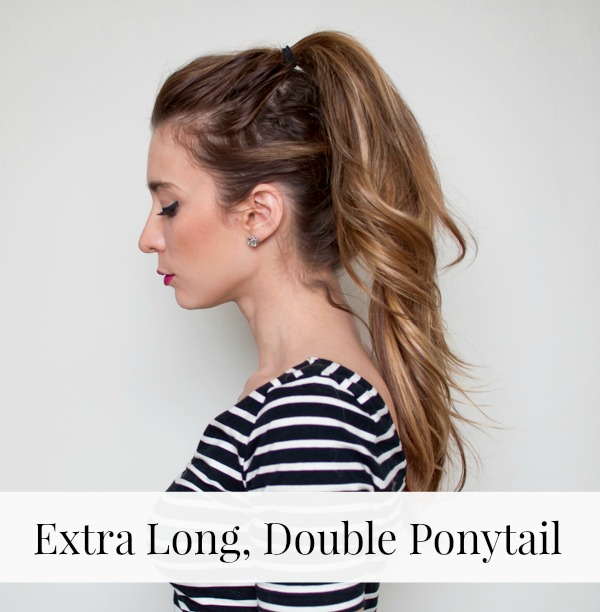 Easy Extra-Long Ponytail Hair Tutorial