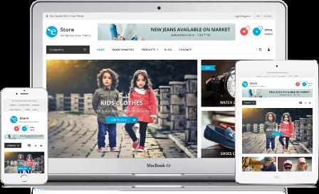 eStore - Online Store WP Theme