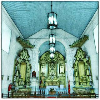 Nave da Igreja de Santo Amaro, General Câmara