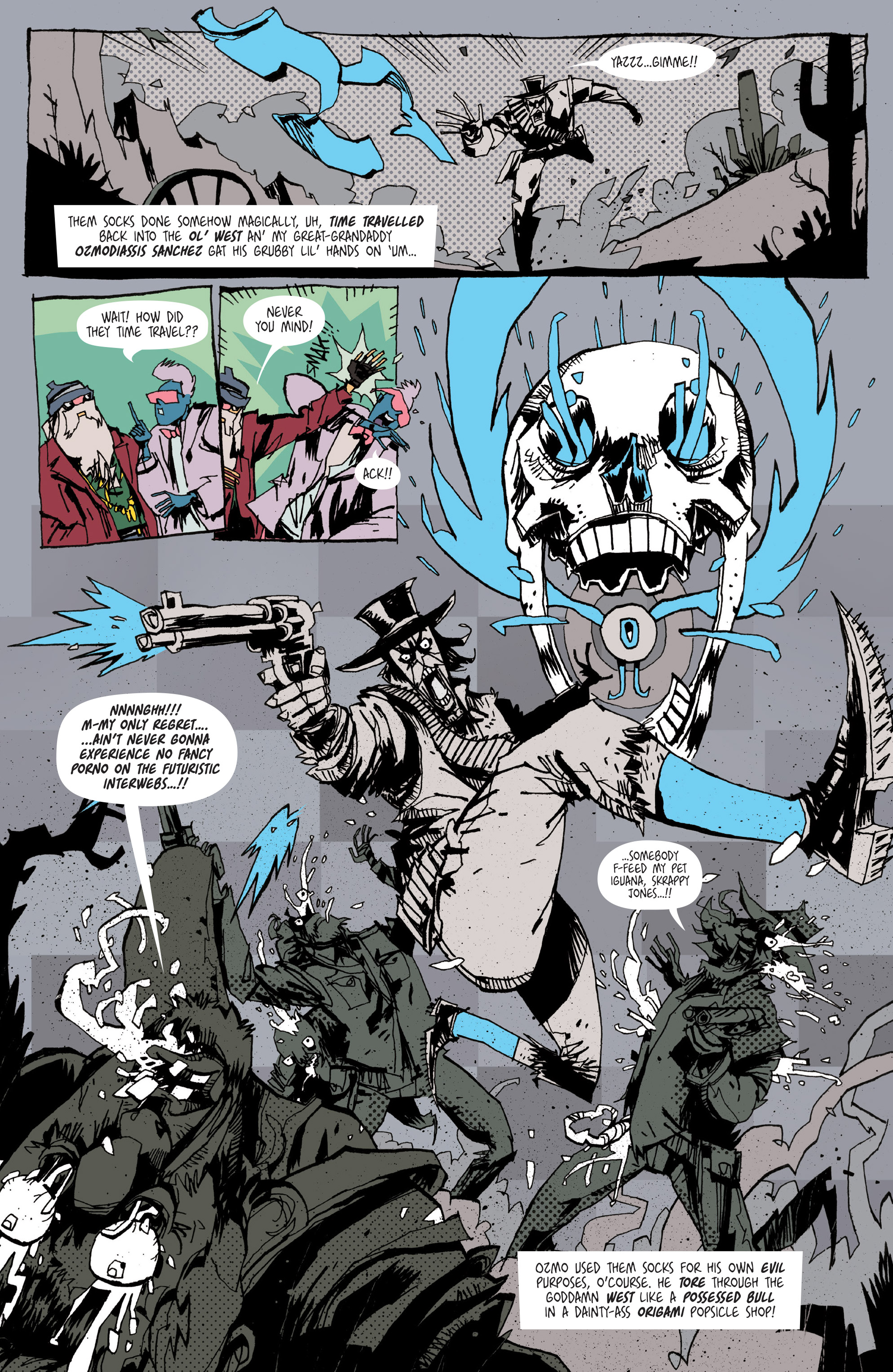 Read online Grrl Scouts: Magic Socks comic -  Issue #2 - 7