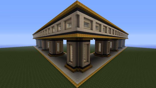 minecraft construccion monumento