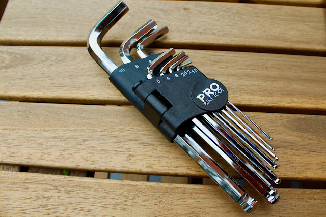 Review - Pro Bike Tool Ball-Ended Hex Key (Allen Key) Set