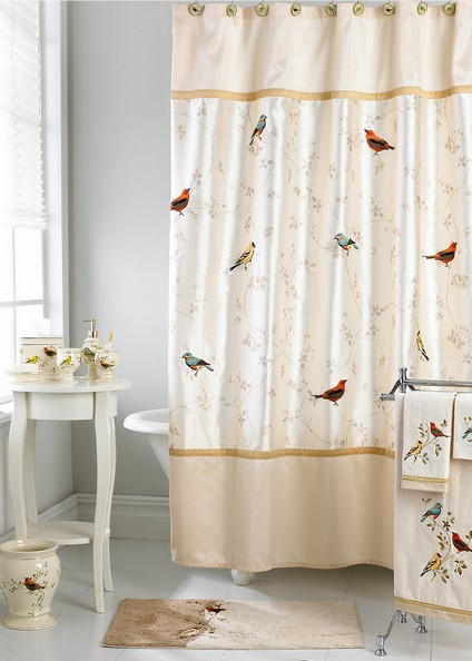 bathroom sets with shower curtain and rugs box