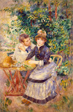 In the Garden by Pierre-Auguste Renoir - Genre Paintings from Hermitage Museum