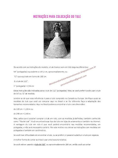 PAP em Português do Vestido de crochê de luxo para Barbie página 8